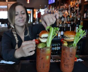 Meat our Mary Bloody Mary - b Restaurants