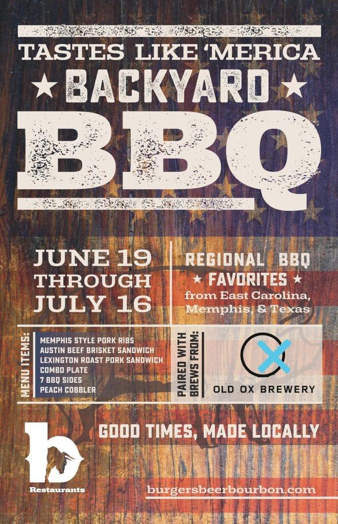 Backyard BBQ Menu DC and Virginia