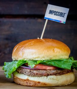 The Impossible Burger now available at Plan B